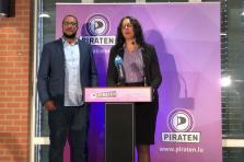 Starsky Flor et Marie-Paule Dondelinger, Piratepartei