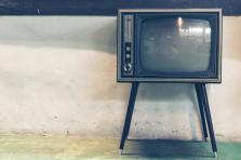 Ancien téléviseur