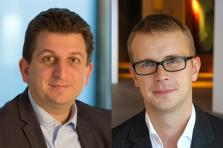 Pascal Martino, Banking Leader and Deloitte Digital Co-Leader in Luxembourg and Ronan Vander Elst, Deloitte Digital Co-Leader in Luxembourg