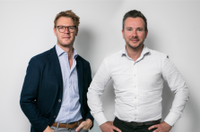 Tim Pittevils, General Manager d'atHomeGroup et Yann Gadea, Manager d'atHomeFinance