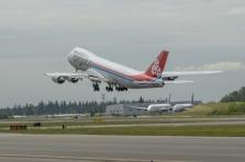 City of Dudelange a décollé ce mercredi de Seattle pour joindre Luxembourg.