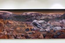 Justine Blau réinvente la planète Mars à partir d'images de la Nasa.