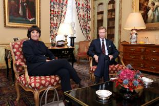 Martine Solovieff et le Grand-Duc
