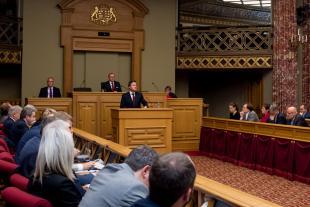 Xavier Bettel a détaillé durant une heure les axes majeurs du travail de sa coalition.