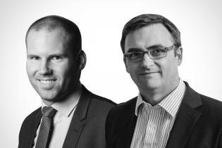 Alexandre Gauthy et Luke Hickmore