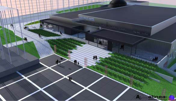 L'Euro Space Center sera entièrement rénové. Photo: Alinea.