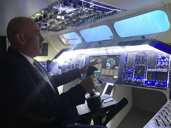 Jean-Marcel Thomas, directeur de l'Euro Space Center: «Le spatial évolue, nous devons aussi évoluer avec le spatial. C'est pourquoi nous investissons dans une série de nouveaux simulateurs.» Photo: Paperjam