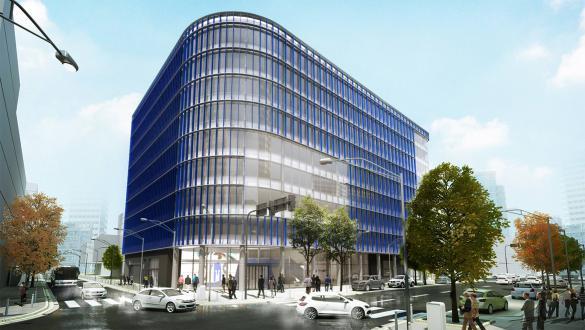 Le bâtiment Naos sortira de terre en 2019