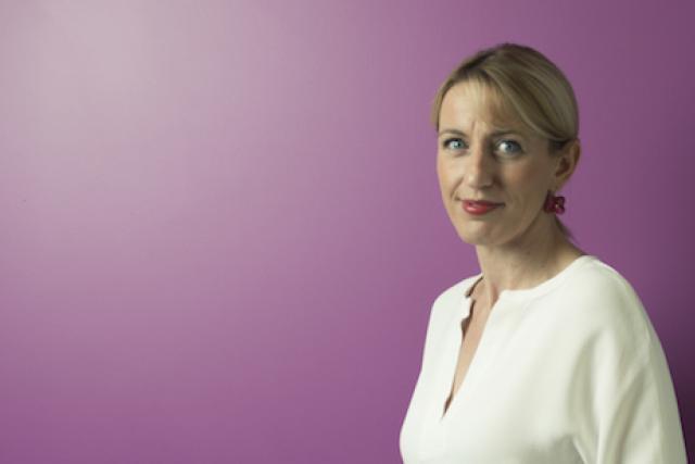 Anne Darin-Jaulin, directrice de l'Union commerciale de la Ville de Luxembourg
