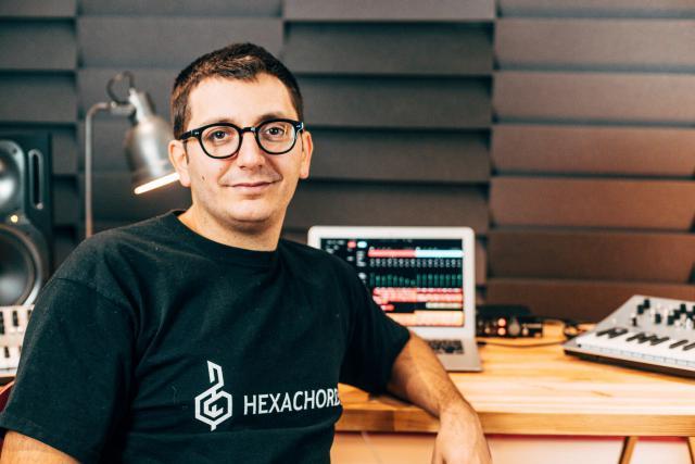 Richard Portelli, CEO d'Hexachords