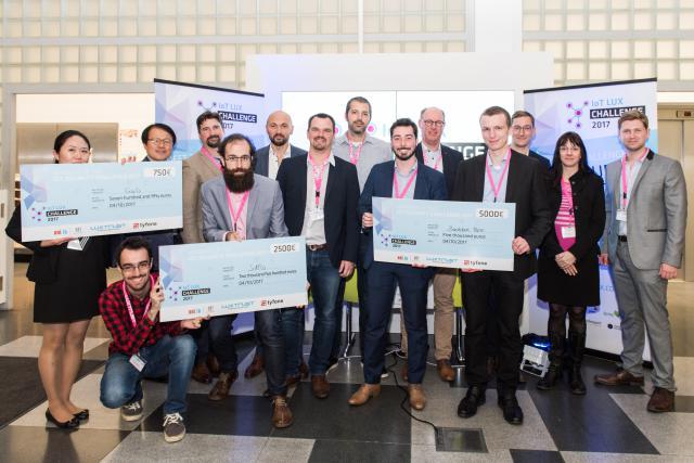 Lauréats de l'IoT Security Challenge