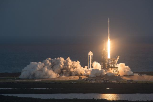 SES lancement SpaceX