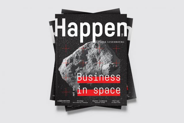 Happen, le magazine de Luxinnovation