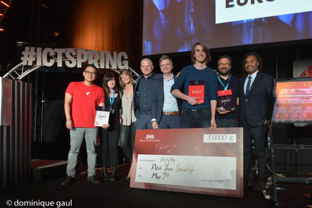 Récompense Pitch Your Startup 2017