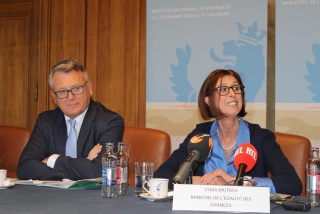 Nicolas Schmit et Lydia Mutsch
