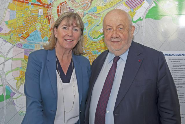 Lydie Polfer et André Rossinot