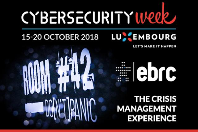 EBRC propose d'élaborer un scénario de crise sur mesure qui permettra aux dirigeants et managers de se confronter aux menaces grâce à la Room#42.