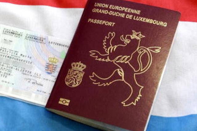 Passeport luxembourgeois