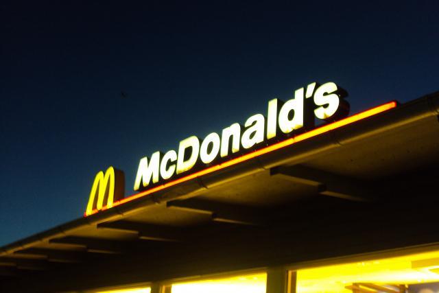 L'enseigne de fast-food est actuellement en construction.