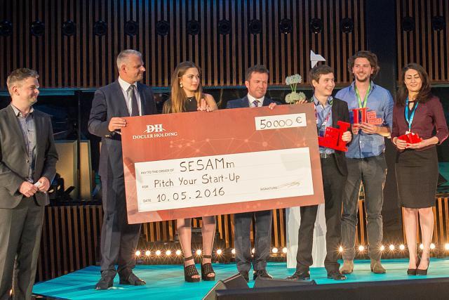 Sesamm, lauréate de l'édition 2016 de Pitch Your Start-up.
