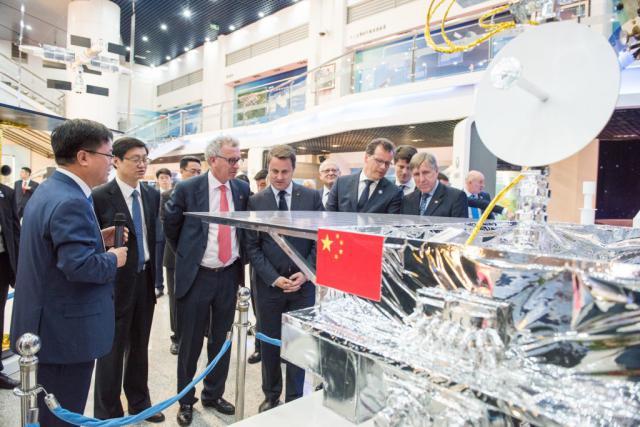 Philippe Glaesener, ici à côté de François Bausch lors de la récente visite officielle du Premier ministre en Chine