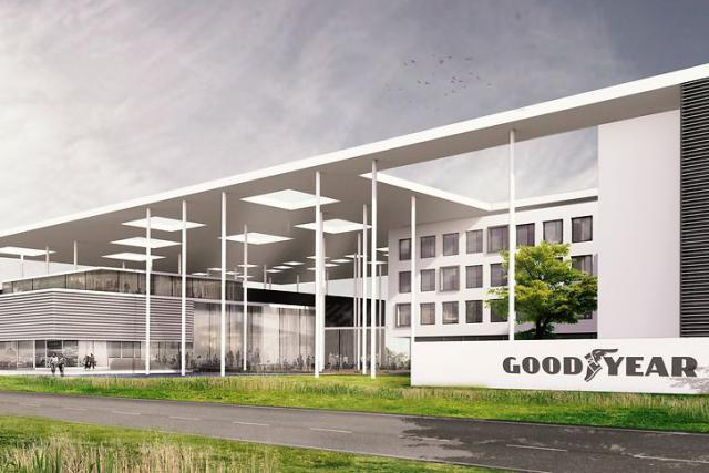 Le futur centre d'innovation mondial de Goodyear sera le lieu de travail de quelque 1.100 collaborateurs du groupe américain.