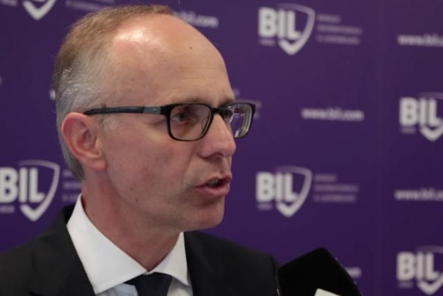 Luc Frieden, président du conseil d'administration de la Bil