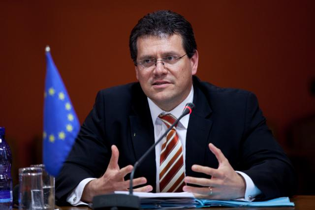 Maros Sefcovic, commissaire européen