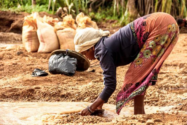 Femme Afrique microfinance