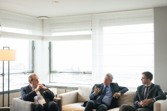 Yves Stein, Paul Scholten et Cédric Lebbege, KBL epb