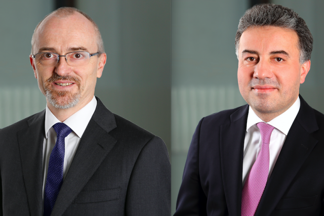 Nico Picard, Chief Financial Officer, et Stéphane Albert, Chief Risk Officer