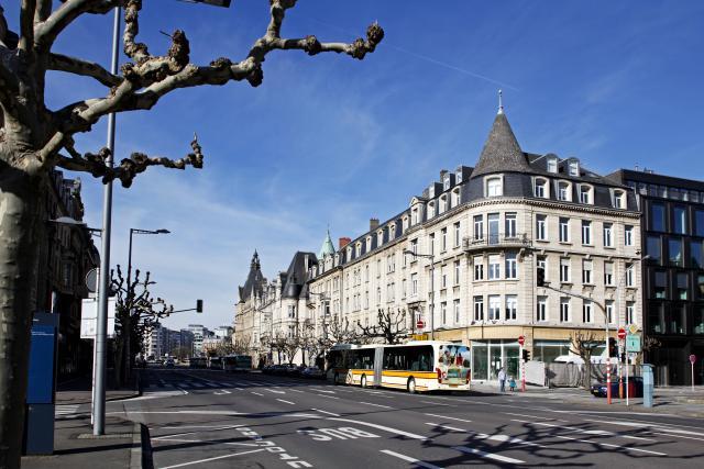 Avenue de la Liberté, Luxembourg-ville