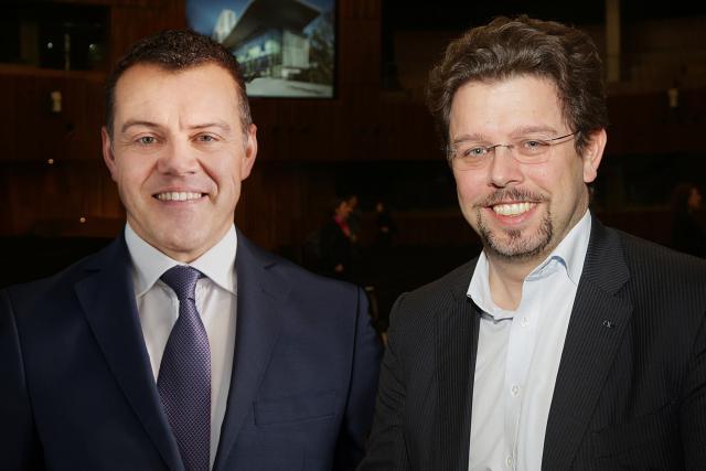 Thierry Debourse et Nicolas Henckes
