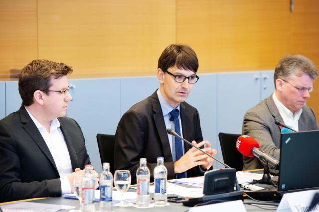 Vincent Hein, Marc Wagener et Muriel Bouchet, Fondation Idea.