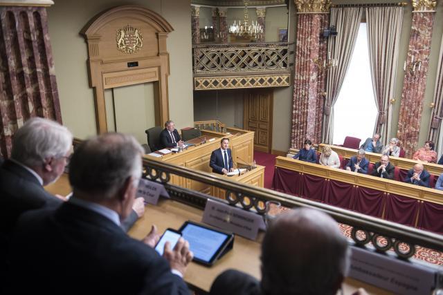 L'opposition a trouvé l'intervention de Xavier Bettel loin des préoccupations quotidiennnes.
