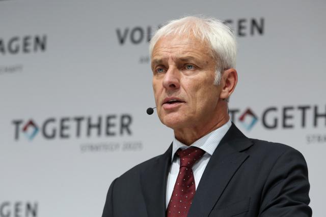 Le départ de Matthias Müller avait été annoncé par la presse allemande dès mardi.