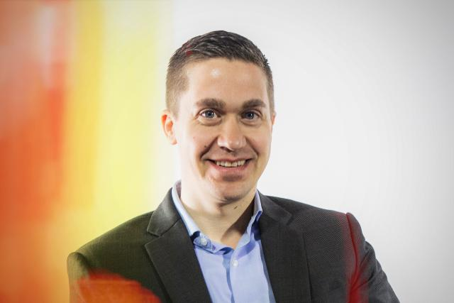 Adrien Kirschfink, managing director, Accenture Luxembourg