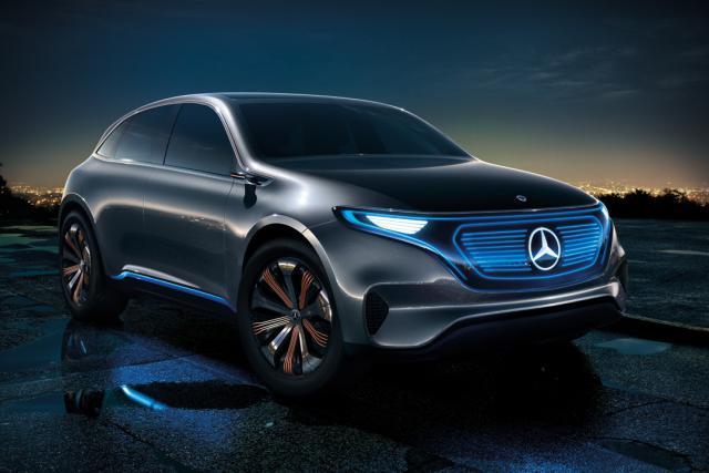 L'usine Smart à Hambach va produire un modèle Mercedes électrique. Ici, le concept EQ de la marque à l'étoile.