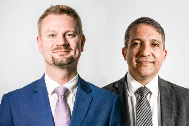 Olivier Portenseigne (Fundsquare) et Dariush Yazdani (PwC Luxembourg)