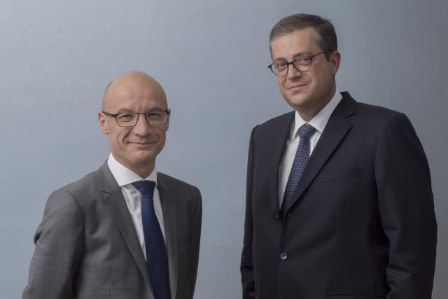 Yves Francis et John Psaila, Deloitte Luxembourg