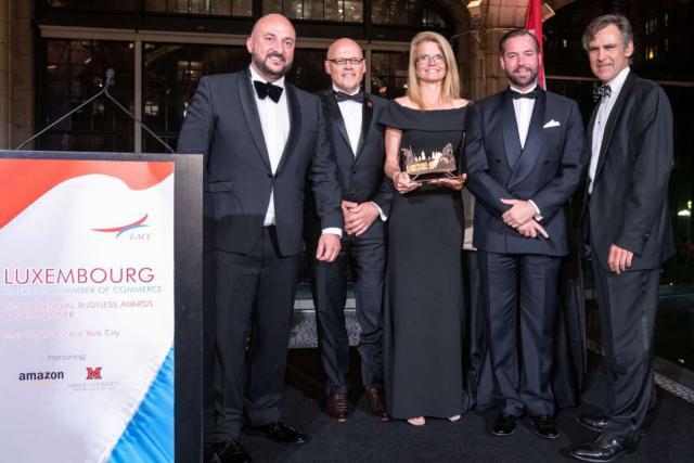 C'est la première fois depuis sa création en 1999, qu'une société de service reçoit cette Prix.