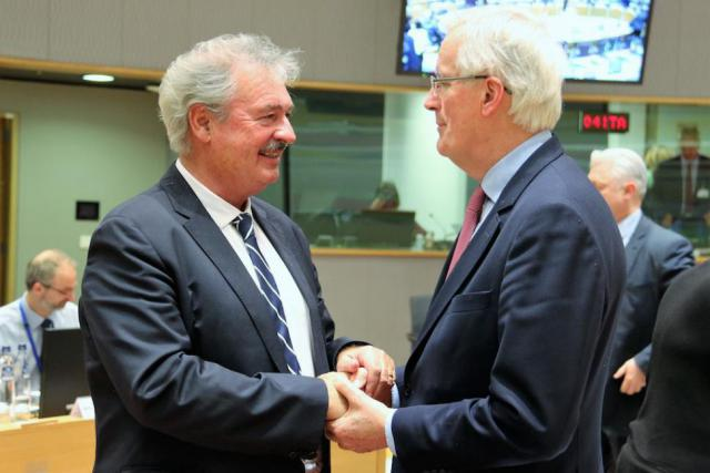 Jean Asselborn Michel Barnier