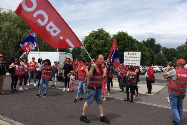 L'OGBL a obtenu un accord jeudi à Bertrange, mais la grève continue sur les sites de Bettembourg vendredi et Pétange lundi.