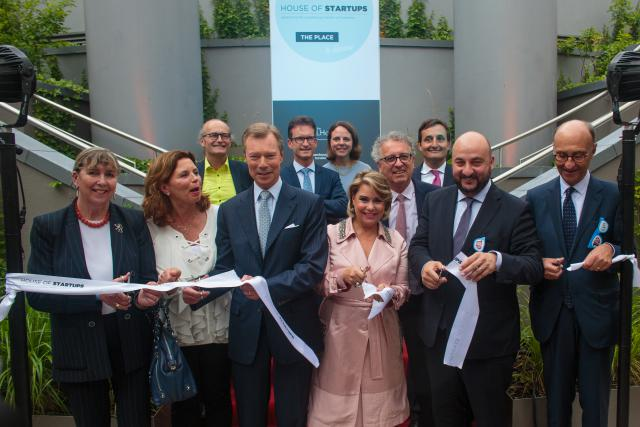 Inauguration de la House of Start-ups
