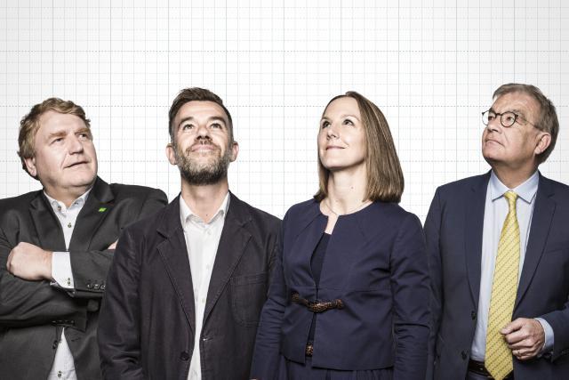 Christian Kmiotek, Franz Fayot, Joëlle Elvinger Laurent Mosar