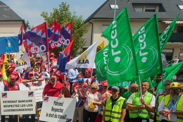 Si par le passé les deux syndicats ont pu unir leurs forces lors de manifestations, cela ne sera pas le cas jeudi pour le secteur du bâtiment.