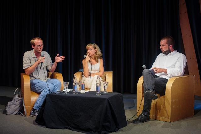 Jean-Claude Franck, Caroline Mart, Christophe Bumb