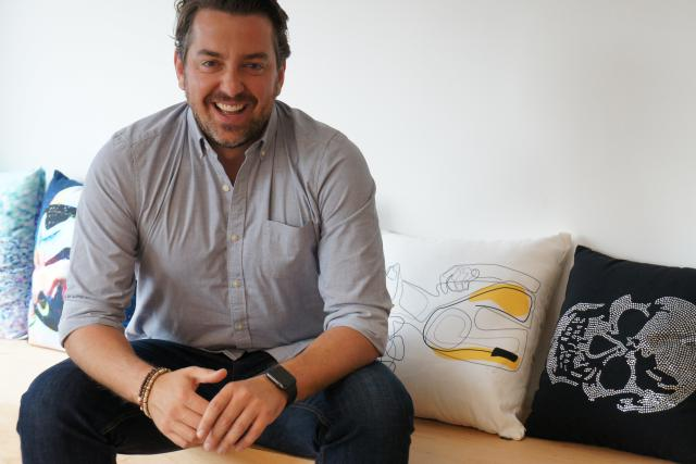 James Hickson, le CEO de Mash