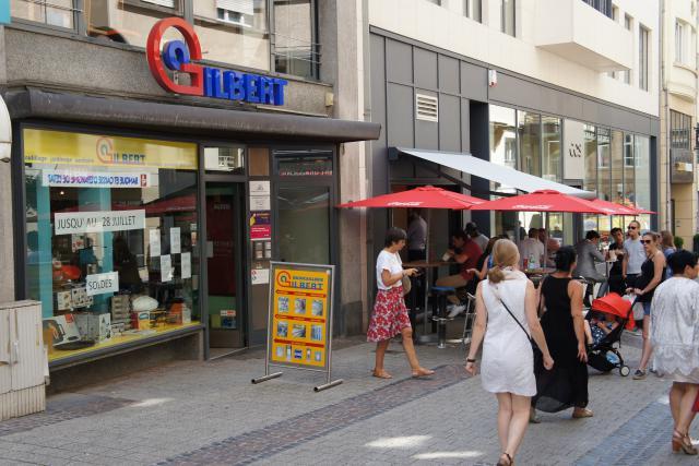 La quincaillerie faisait partie des boutiques historiques du centre-ville.