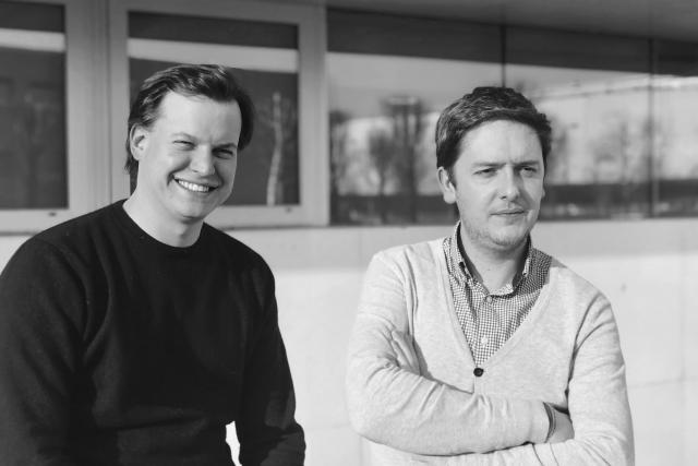 Mike Reiffers et Nicolas Speeckaert